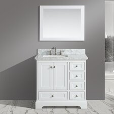 Jocelyn 36 Bathroom Sink Vanity Set with Mirror by Urban Furnishings