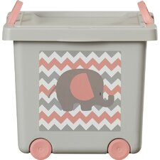Nellie Toy Stacking Basket with Lid