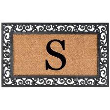 YourOwn Monogrammed Rubber Doormat