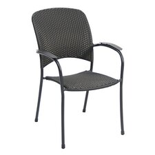Monaco Stacking Dining Arm Chair (Set of 4)