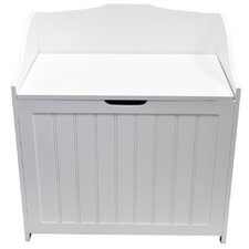 Tongue and Groove Floor Cabinet Laundry Bin