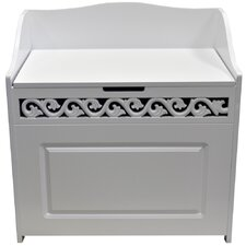 Panelled Floor Cabinet Laundry Bin