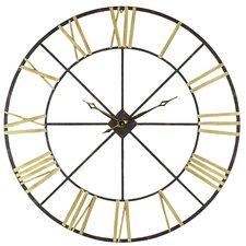 "Oversized 48"" Baldwin Metal Wall Clock"