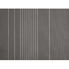 Ziczac Stripe Seamed 4 Piece Placemat (Set of 4)