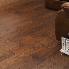 "5"" Engineered Hickory Hardwood Flooring in Pace"