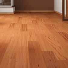 "5-1/2"" Solid Tigerwood Hardwood Flooring in Natural"