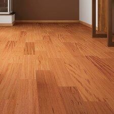 """3"""" Solid Tigerwood Hardwood Flooring in Brown"""