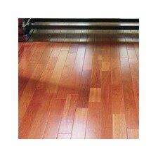 "3"" Solid Brazilian Rosewood Hardwood Flooring in Natural"