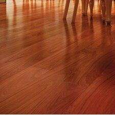"5-1/2"" Solid Brazilian Walnut Hardwood Flooring in Black"
