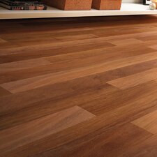 "3"" Solid Brazilian Teak Hardwood Flooring in Natural"