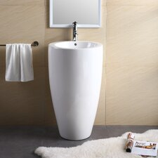 "Pedestal Series 20"" Bathroom Sink"