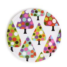 "Dot Tree 8"" Melamine Salad Plates (Set of 4)"