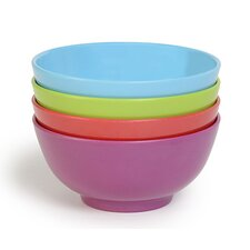 4 Piece Melamine Dessert Bowl Set