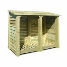 Cottesmore 5 Ft. W x 3 Ft. D Wood Log Store