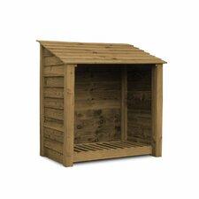 Greetham 4 Ft. W x 3 Ft. D Wood Log Store