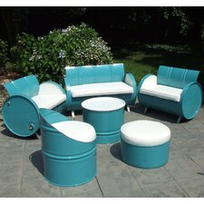 Del Ray 6 Piece Seating Group with Cushion by Drum Works Furniture
