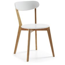 2-tlg. Esszimmerstuhl-Set Leighton aus Massivholz