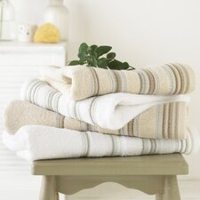 4 Piece Ribbed Egyptian Towel Set