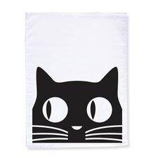 Big Eyes Cat Dishcloth