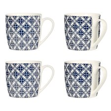 Flower Mugs (Set of 4)