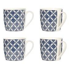 Flower Mugs (Set of 4)
