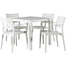 Nikoleta 5 Piece Dining Set