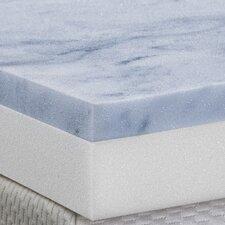 """3"""" Gel Memory Foam 2 Layer Topper"""