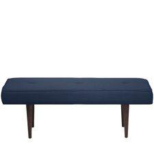 Aldgate Tufted Polyester Upholstered Bedroom Bench by Corrigan Studio