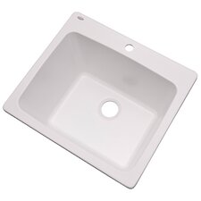 "Wakefield 25"" x 22"" Single Laundry and Utility Sink"