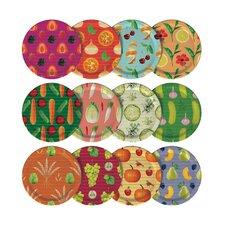 12 Piece Mason Jar Lid Set