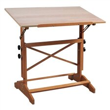 Pavilion Wood Drafting Table