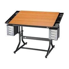 CraftMaster II Wood Drafting Table