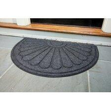 Hailey Sunburst Rubber Back Doormat