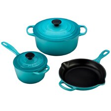 5 Piece Signature Cast Iron Set