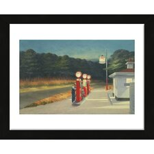 'Gas, 1940' by Edward Hopper Framed Painting Print