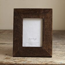 Fair Trade Natural Wood Rustic Picture Frame