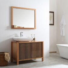Monza 40 Single Vanity Set with Mirror by Vinnova