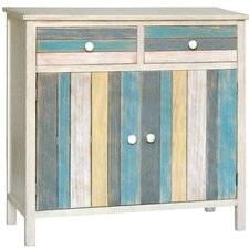 Seaside 2 Drawer and 2 Doors Cabinet by Gallerie Decor