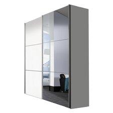Schwebetürenschrank Solutions Bianco, 216 cm H x 175 cm B x 68 cm T