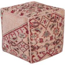 Leander Pouf Ottoman by Bungalow Rose