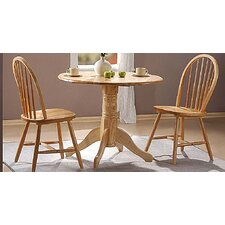 Madison Folding Dining Set with 2 Chairs