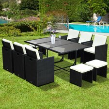 10 Seater Dining Set with Cushions