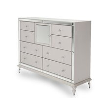 Hollywood Loft 8 Drawer Dresser by Michael Amini (AICO)