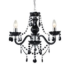 Marie Therese 3 Light Crystal Chandelier