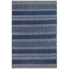 Estate Hand-Woven Blue Indoor/Outdoor Area Rug