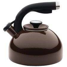 2-qt. Stainless Steel Tea Kettle in Chocolate