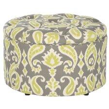 Lenore Upholstered Storage Ottoman by One Allium Way