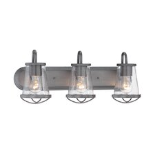 Darby 3-Light Vanity Light by Designers Fountain