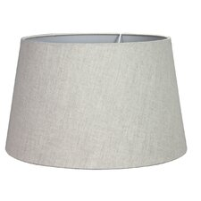 38cm Linen Drum Lamp Shade
