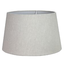43cm Linen Drum Lamp Shade